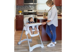 243-GRY Solid Times High Chair RmScene