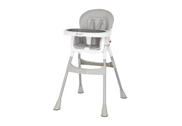 244-GRY Portable 2 in 1 Tabletalk High Chair Silo 01