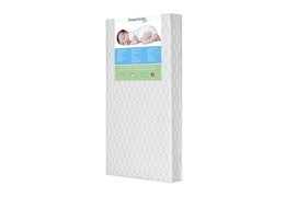 "Carousel Firm Fiber 6"" Crib and Toddler Bed Mattress"