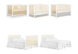 735-WPG Ridgefield 5 in 1 Convertible Crib Collage