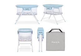4469-BB Poppy Traveler Portable Bassinet Collage