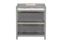 661-SGY Milo Changing Table Front Silo