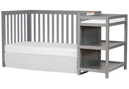 661-SGY Milo Day Bed and Changing Table Silo