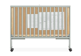 674-CG Quinn Full Size Folding Crib Side Silo 07