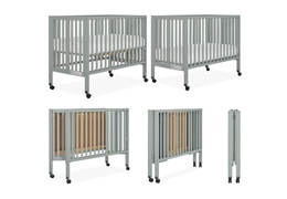 674-CG Quinn Full Size Folding Crib Collage