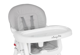 244-GRY Portable 2 in 1 Tabletalk High Chair Silo 19