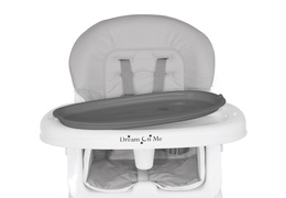 244-GRY Portable 2 in 1 Tabletalk High Chair Silo 15