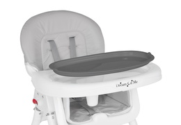 244-GRY Portable 2 in 1 Tabletalk High Chair Silo 18