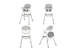 244-GRY Portable 2 in 1 Tabletalk High Chair Collage 01