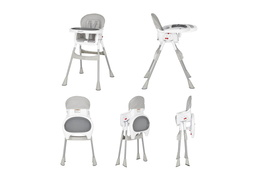 244-GRY Portable 2 in 1 Tabletalk High Chair Collage 02