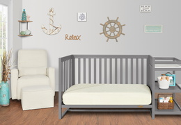 661-SGY Milo Day Bed and Changing Table Room Shot 02