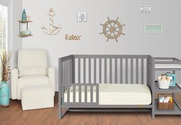 661-SGY Milo Toddler Bed and Changing Table Room Shot 02