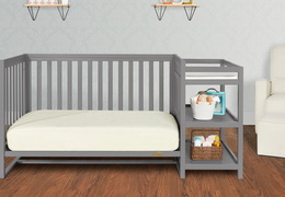 661-SGY Milo Day Bed and Changing Table Room Shot 01