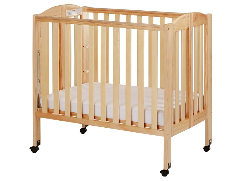 Natural 3 in 1 Folding Portable Crib Silo