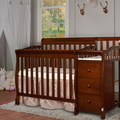 Espresso Jayden 4 in 1 Mini Convertible Crib and Changer Room Shot