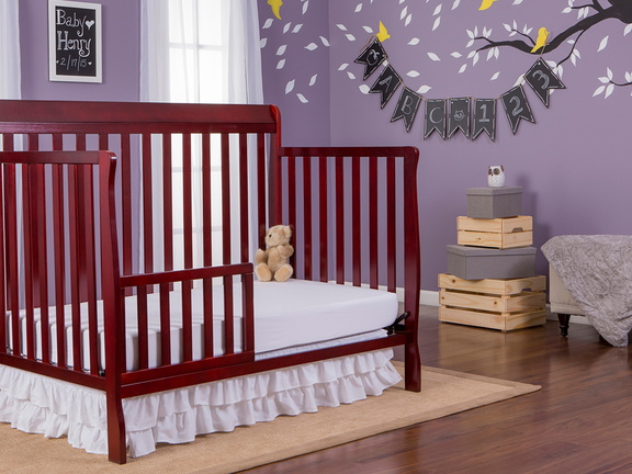 Cherry Alissa 5 in 1 Toddler Bed