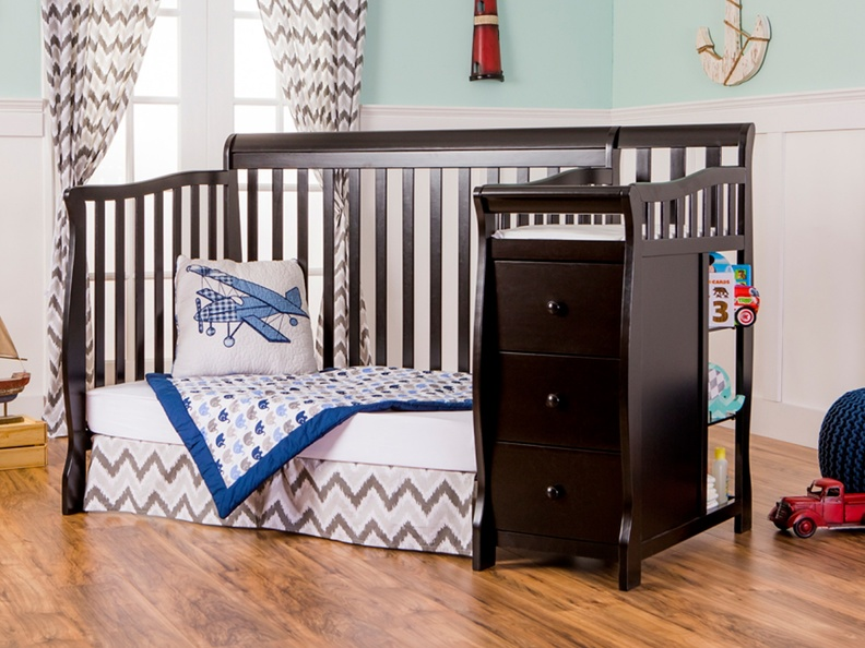 Black Brody Day bed with Changer