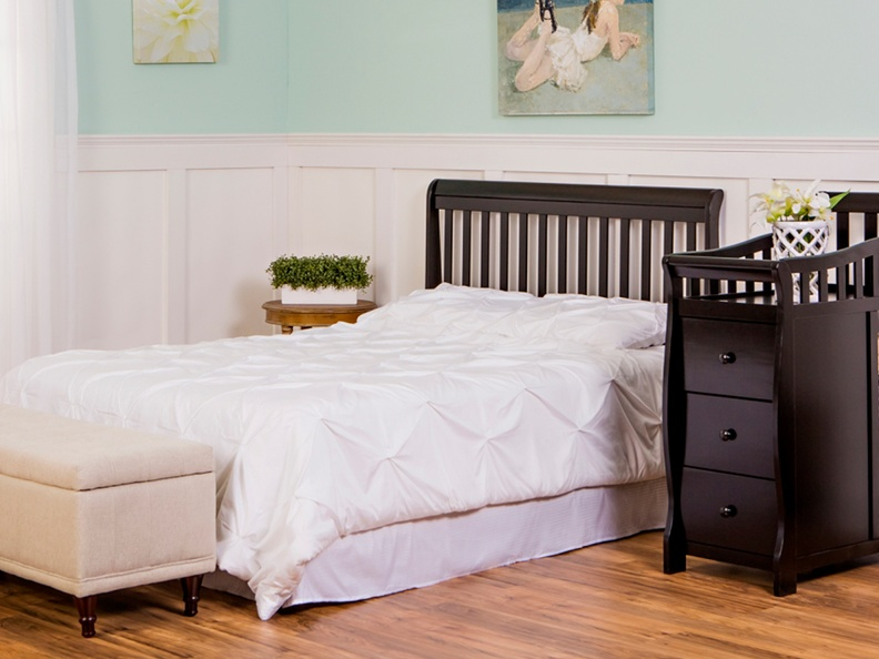 Black Brody 5 in 1 Full Size Bed
