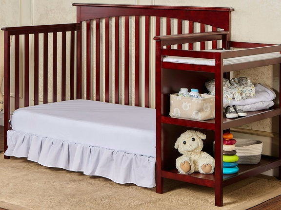 665 C Cherry Chloe Day Bed With Changer RS