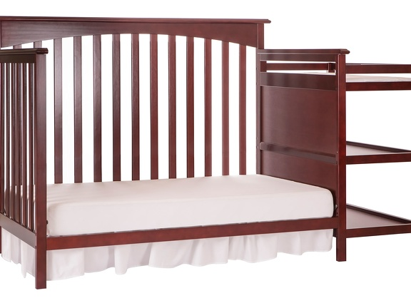 665 C Cherry Chloe Day Bed With Changer Silo