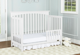 Snow Fall Davenport Toddler Bed Room Shot