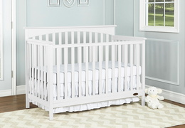Snow Fall Davenport Crib Room Shot