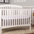 White Eden 5 in 1 Convertible Crib Room Shot