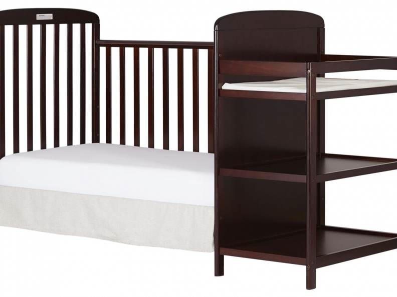 678-C Anna 4 in 1 Full Size Day Bed Changing table Silo