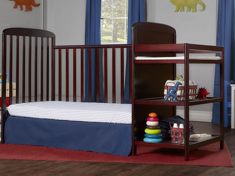 678-C Anna 4 in 1 Full Size Day Bed Changing table