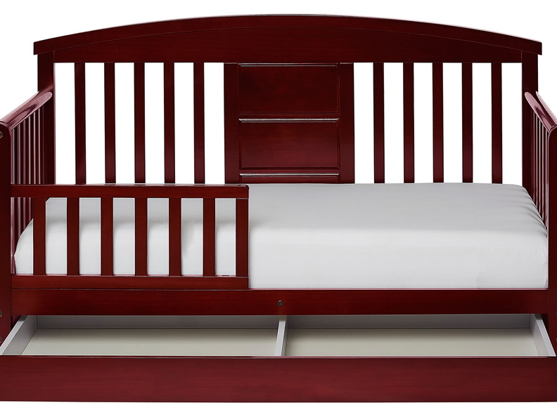 Cherry Deluxe Toddler Bed Silo