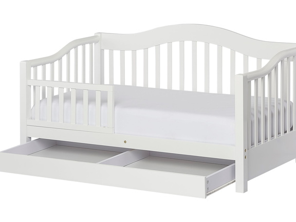 White Toddler Day Bed Silo