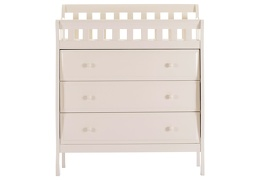 White Marcus Changing Table & Dresser - French