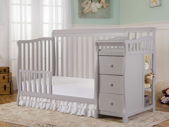 Pebble Grey Brody Toddler Bed RS