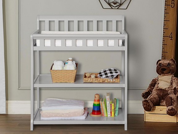 Grey 2-in-1 Ashton Changing table RS