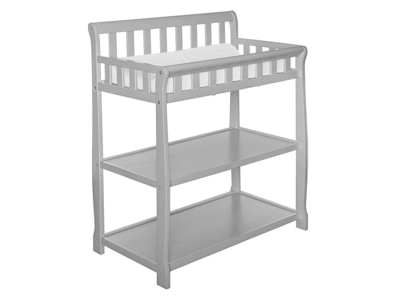Grey 2-in-1 Ashton Changing table Silo Side