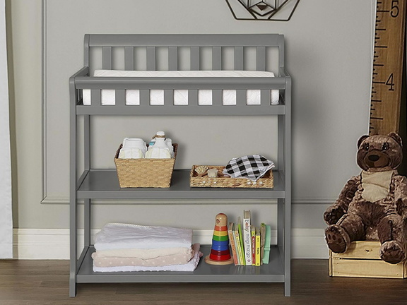 Steel Grey 2-in-1 Ashton Changing table RS