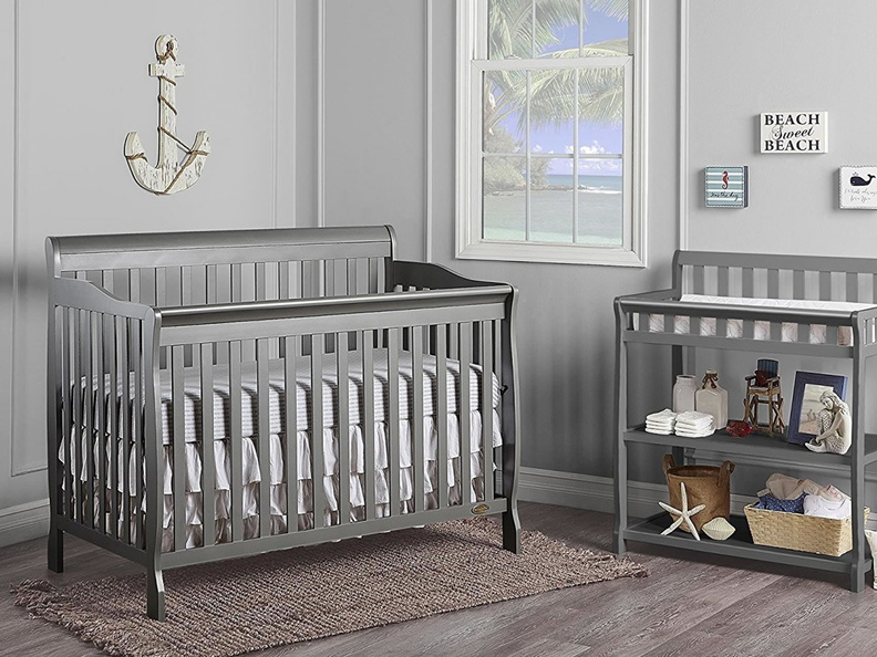 Steel Grey 2-in-1 Ashton Changing table RS1