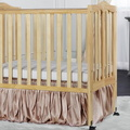 Natural 2 in 1 Lightweight Folding Portable Crib RS