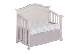 Nirvana 6 inch 96 Coil Spring Crib and Toddler Bed Mattress in Crib