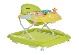 Green/Yellow 2 in 1 Crossover Musical Walker and Rocker1