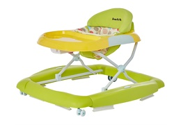 Green/Yellow 2 in 1 Crossover Musical Walker and Rocker4