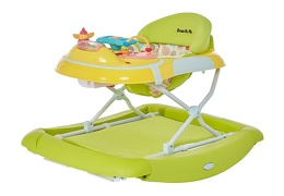 Green/Yellow 2 in 1 Crossover Musical Walker and Rocker5