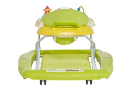 Green/Yellow 2 in 1 Crossover Musical Walker and Rocker8