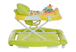 Green/Yellow 2 in 1 Crossover Musical Walker and Rocker7