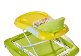 Green/Yellow 2 in 1 Crossover Musical Walker and Rocker10