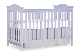 Lavender Ice Bella Rose Classic Convertible Crib Silo