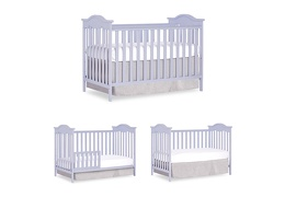 Lavender Ice Bella Rose Classic Convertible Crib College