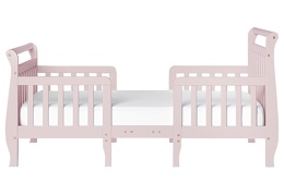 Blush Pink Emma Toddler Bed Silo Front