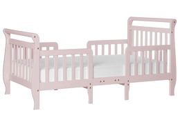 Blush Pink Emma Toddler Bed Silo Side