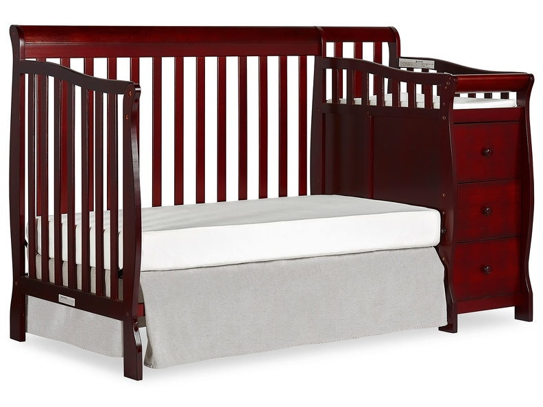 Cherry Brody 5 in 1 Day Bed with Changer Silo